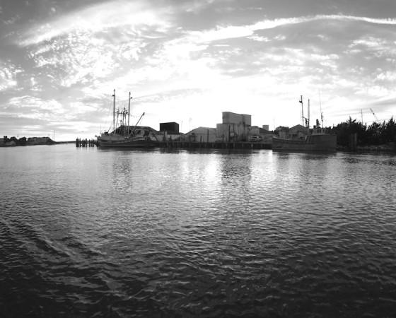 Docks – Black and White